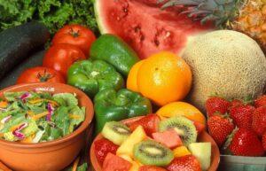 fruits vegetables memory depression